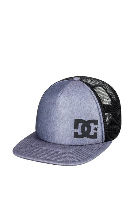 DC Greeters Hdwr Blue Perforated Polyester Summer Cap