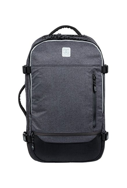 2e27149aa8fc Buy DC Blocksway Grey & Black Solid Polyester Laptop Backpack For ...