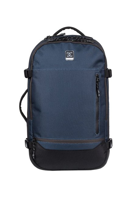 4dc05168b4 Buy DC Blocksway Navy   Black Solid Polyester Laptop Backpack For Men At  Best Price   Tata CLiQ