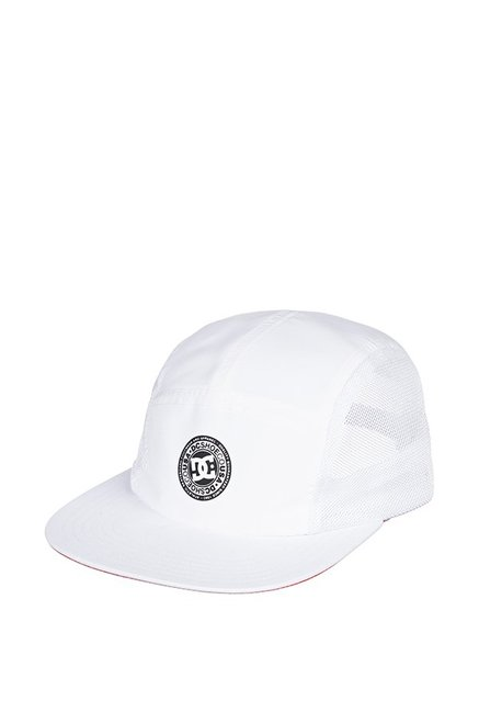 DC Toneballer Hdwr White Perforated Polyester Baseball Cap