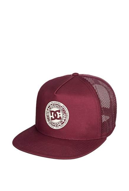 DC Perftailer Hdwr Maroon Perforated Polyester Summer Cap
