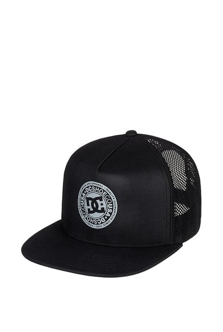 DC Perftailer Hdwr Black Perforated Polyester Summer Cap