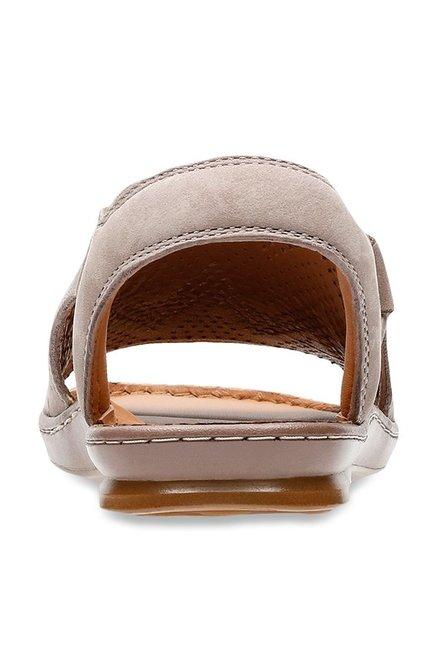 e5380f4ee434 Buy Clarks Sarla Cadence Grey Sling Back Sandals for Women at Best ...