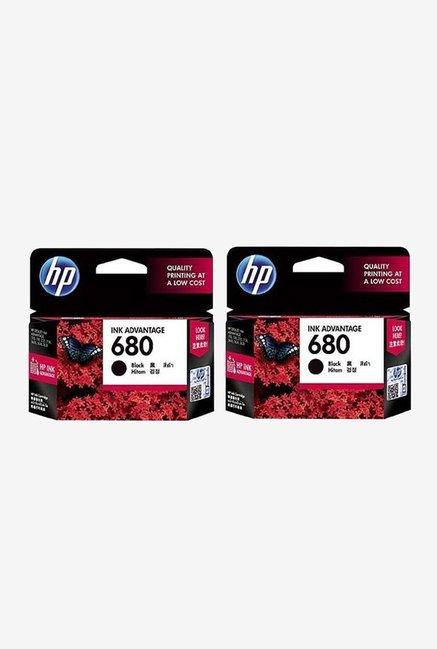 HP 680 Combo Pack Cartridge  Black