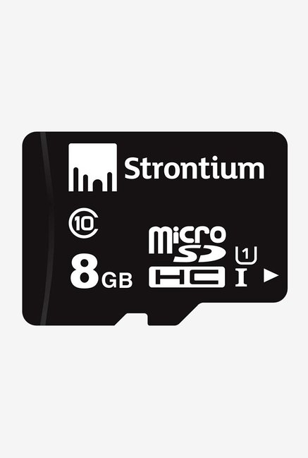 Strontium Class 10 8 GB Memory Card  Black