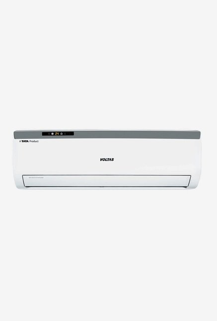 Voltas 1.0 Ton 1 Star Copper (BEE Rating 2018) 121 CZA Split AC (White)