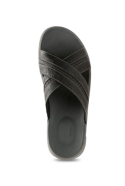 0926ad8c1278 Buy Clarks Brixby Black Cross Strap Sandals for Men at Best Price ...