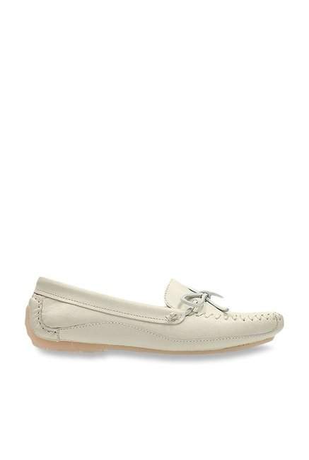 Buy Clarks Natala Rio White Loafers for