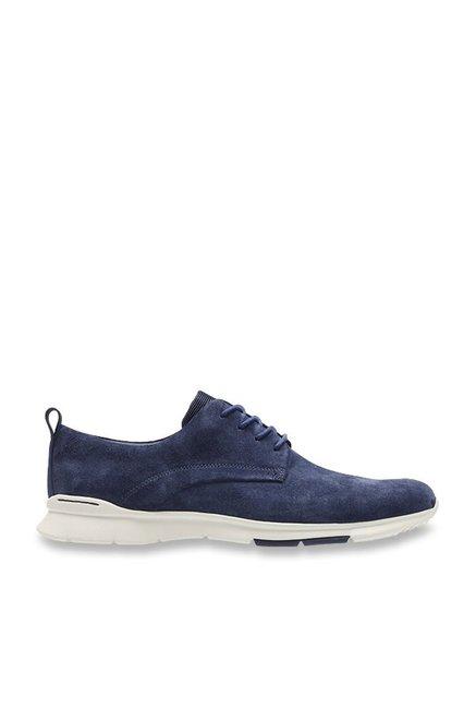 377d0467a87da Buy Clarks Tynamo Walk Navy Derby Shoes for Men at Best Price @ Tata CLiQ