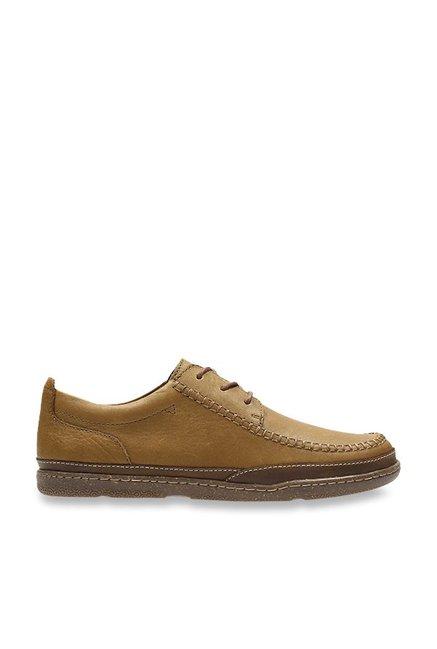 Sonderpreis für Farbbrillanz ausgewähltes Material Buy Clarks Trapell Apron Brown Derby Shoes for Men at Best ...