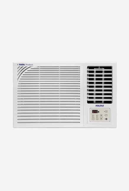 Voltas 1.0 Ton 2 Star Copper  BEE Rating 2018  122 PZR Window AC  White