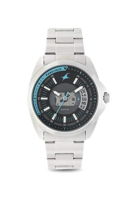5916b5bd9 Buy Fastrack 38049SM01 Loopholes Analog Watch for Men at Best Price ...