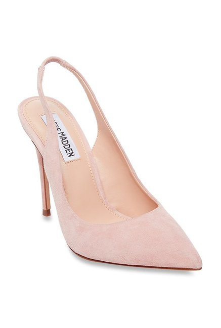 7805c1f4636d Buy Steve Madden Dulce Blush Pink Sling Back Stilettos for Women at ...