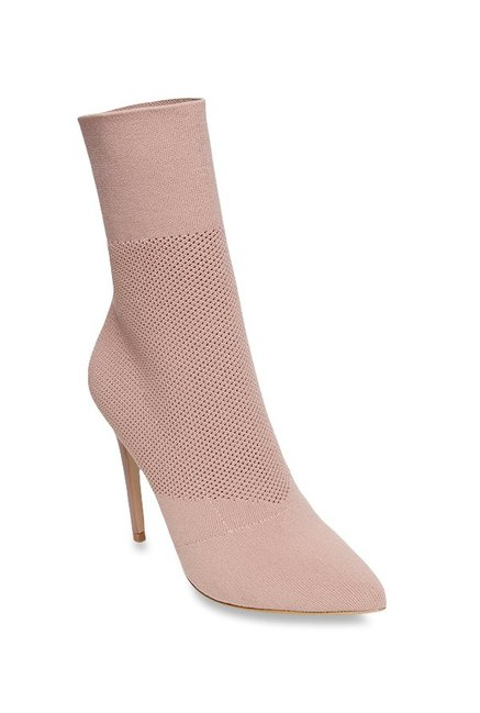 645f3150a78 Buy Steve Madden Century Blush Pink Stiletto Booties for Women at ...