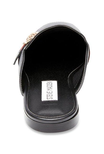 b7e17b92a49 Buy Steve Madden Karisma Black Mule Shoes for Women at Best Price ...