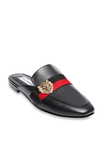 d287d493565 Buy Steve Madden Karisma Black Mule Shoes for Women at Best Price   Tata  CLiQ