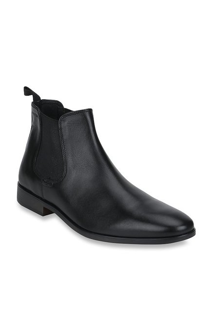 Buy Red Tape Black Chelsea Boots for