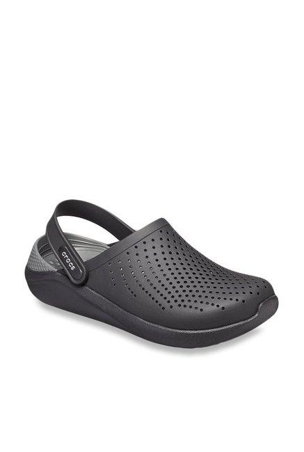 Buy Crocs LiteRide Black \u0026 Slate Grey