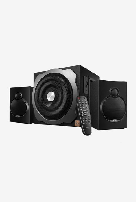 F D A521X 2.1 Channel 52 W Bluetooth Home Audio Speaker  Black