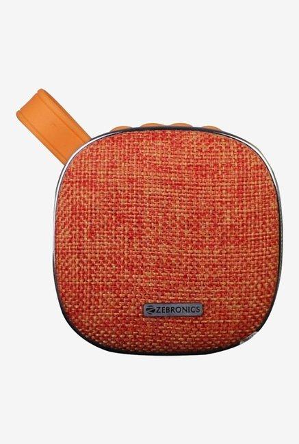 Zebronics PASSION 2.1 Channel Bluetooth Speaker  Orange