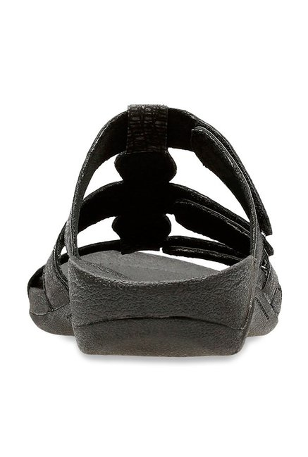 ac9190ff5f3b Buy Clarks Pical Cusick Black Casual Sandals for Women at Best Price ...