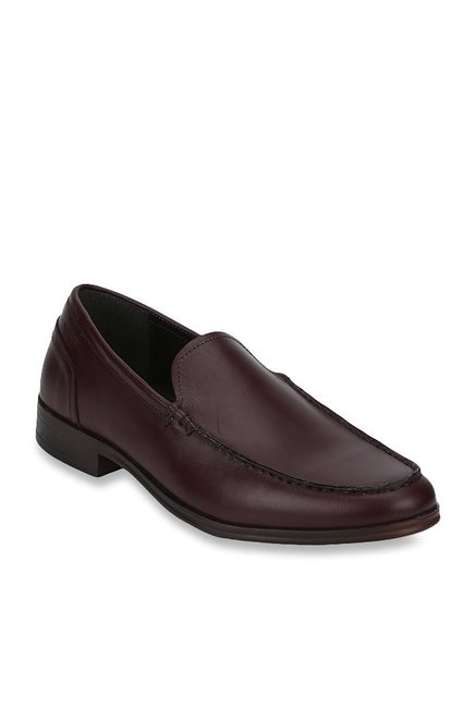 Red Tape Brown Loafer Shoes from Red