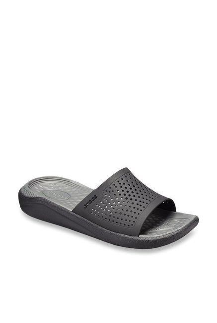 a14805cfe Buy Crocs LiteRide Black Casual Sandals for Men at Best Price ...