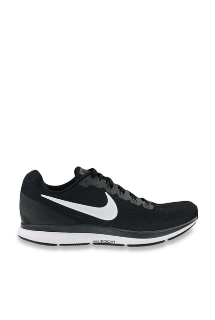a1087c51e3931 Buy Nike Air Zoom Pegasus 34 Black   White Running Shoes for Women at Best  Price   Tata CLiQ