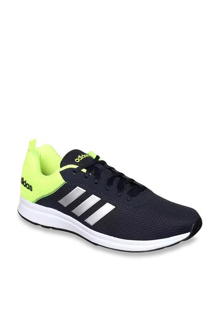 6d2041076820 Buy Adidas Adispree 3 Black   Green Running Shoes for Men at Best ...