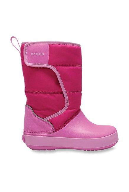 Pick SZ//Color crocs Kids Lodgepoint  Boot