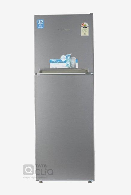 Voltas Beko RFF272I 250 L Inverter 2 Star Frost Free Double Door Refrigerator (Silver)