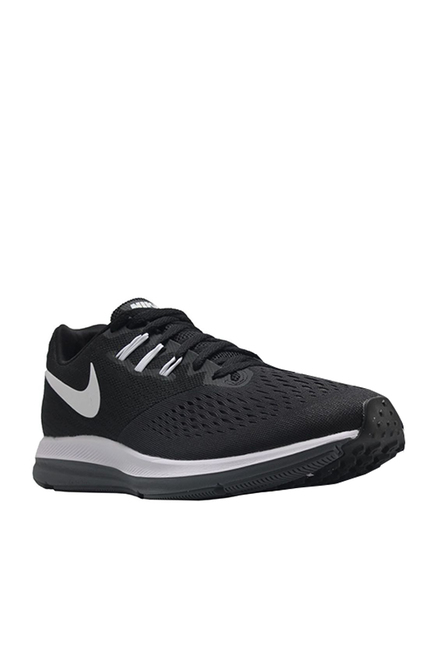 best service 017bb 9e67b Buy Nike Zoom Winflo 4 Black Running Shoes for Men at Best ...