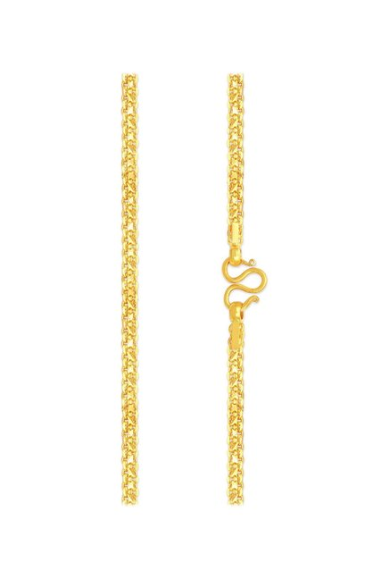 79785ca6e Buy Malabar Gold and Diamonds 22 kt Gold Chain Online At Best Price @ Tata  CLiQ