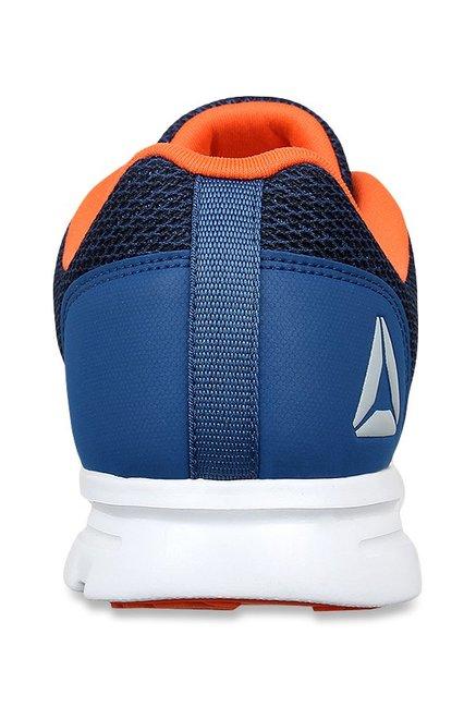 5f54f1be0685c1 Buy Reebok City Runner Bunker Blue   Bright Lava Running Shoes for ...
