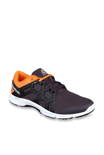 Buy Reebok Gusto Run LP Smoky Volcano   Nacho Running Shoes for Men at Best  Price   Tata CLiQ 71102b7ad
