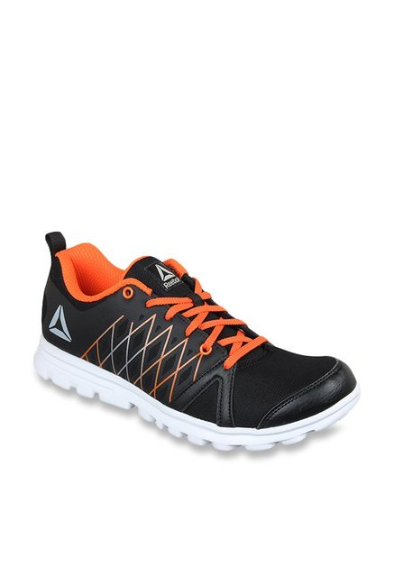 Buy Reebok Pulse Run Xtreme LP Black   Bright Lava Running Shoes for Men at Best  Price   Tata CLiQ d57b83dbd