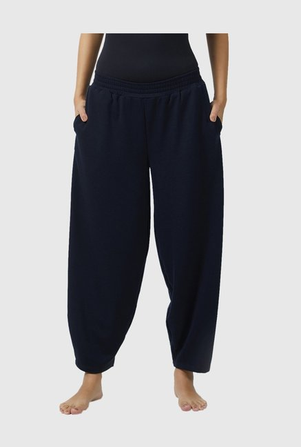 f57da7d7fff Buy Mystere Paris Navy Cotton Lounge Pants for Women Online ...
