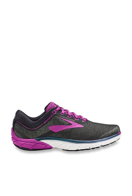 online store cf819 c9f0a Buy Brooks PureCadence 7 Black & Purple Running Shoes for ...