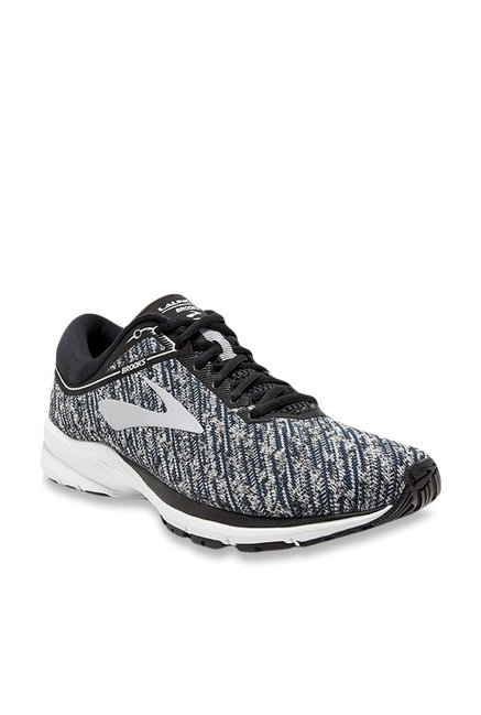 3c7e3799f Buy Brooks Launch 5 Grey & Black Running Shoes for Men at Best Price @ Tata  CLiQ