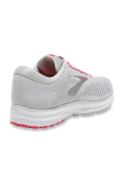 56cfc200a1991 Buy Brooks Revel 2 Light Grey Running Shoes for Women at Best Price ...