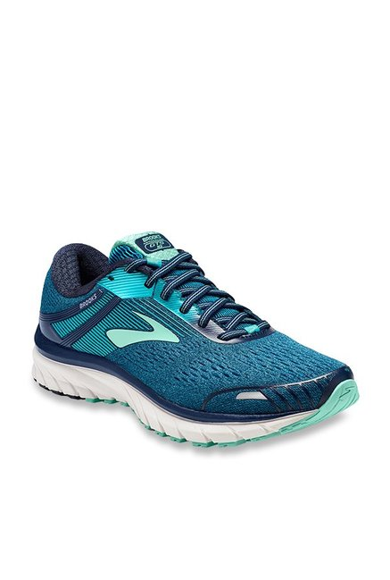 1492fcb76255b Buy Brooks Adrenaline GTS 18 Teal Blue Running Shoes for Women ...