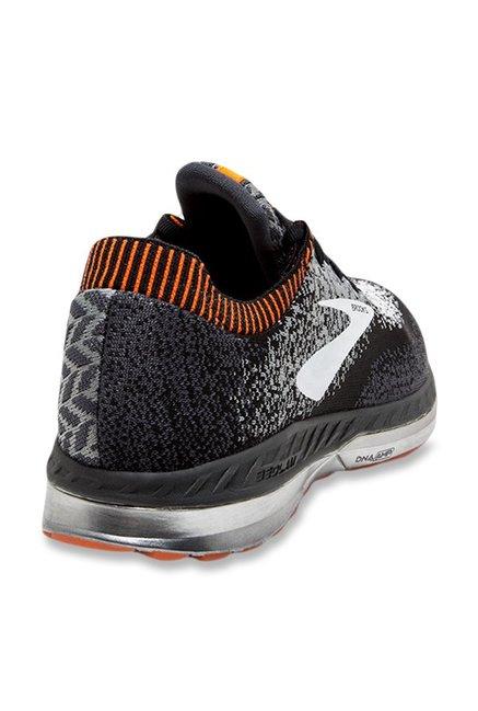 07d8e8a9532 Buy Brooks Bedlam Light Grey   Black Running Shoes for Men at Best ...