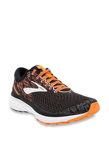 f96c3f96d6f Buy Brooks Ghost 11 Dark Grey   Orange Running Shoes for Men at Best Price    Tata CLiQ