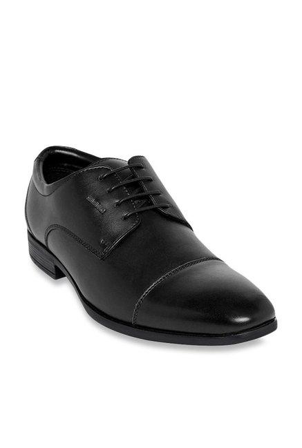 4d762b9f36b5 Buy Duke Black Derby Shoes for Men at Best Price @ Tata CLiQ