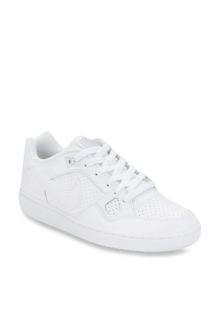 big sale 31fd8 a477b Buy Nike Son Of Force White Sneakers for Women at Best Price   Tata CLiQ