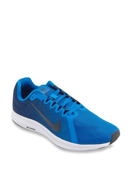 a8e6eedc227 Buy Nike Downshifter 8 Nebula Blue Running Shoes for Men at Best Price   Tata  CLiQ