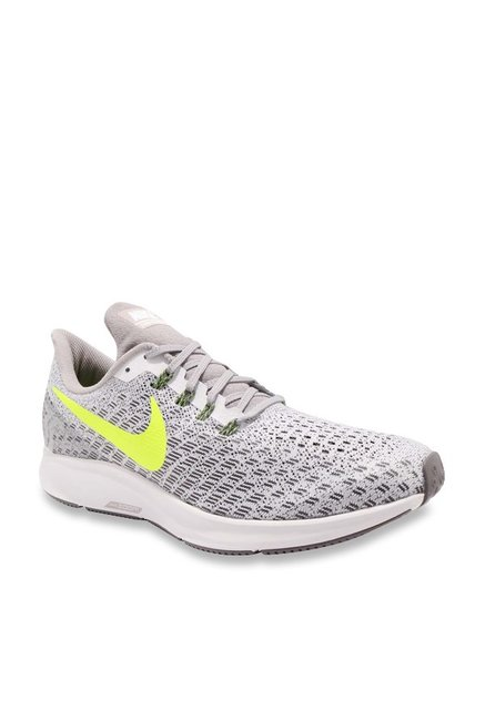 8cbddfcd779 Buy Nike Air Zoom Pegasus 35 Grey Running Shoes for Men at Best Price    Tata CLiQ