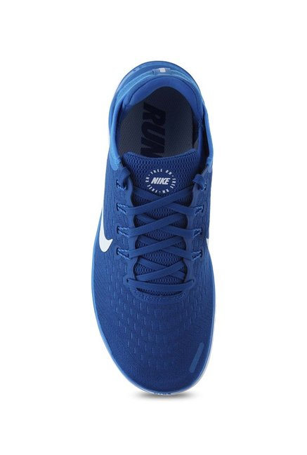 9c7837b3833 Buy Nike Free RN 2018 Blue Running Shoes for Men at Best Price ...
