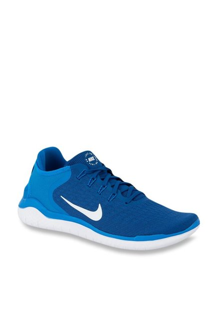 1db970dd10d9a Buy Nike Free RN 2018 Blue Running Shoes for Men at Best Price @ Tata CLiQ