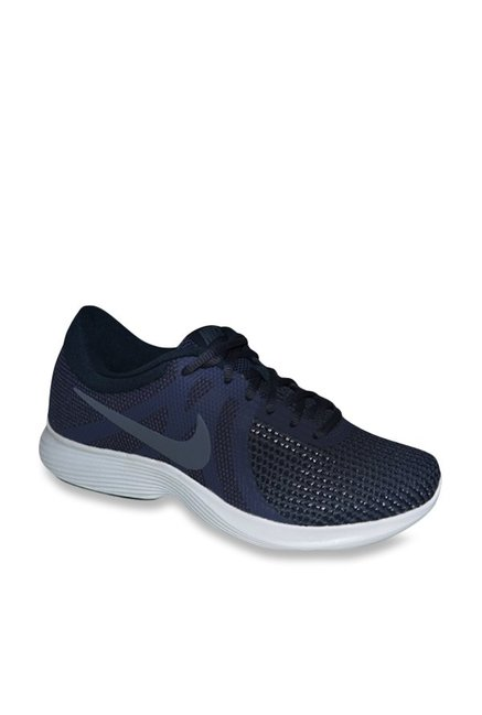 c1b1cf32bc8f8 Buy Nike Revolution 4 Neutral Indigo Running Shoes for Men at Best Price    Tata CLiQ